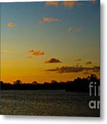 Chilly Sunrise Metal Print