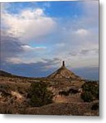 Chimney Rock On The Oregon Trail Metal Print