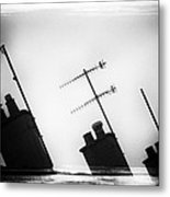 Chimneys Metal Print by David Ridley