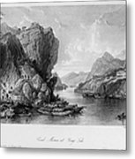 China: Coal Mining, 1843 Metal Print