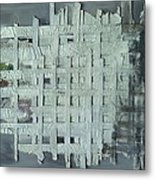 China Ghost Town-abandon Building Metal Print