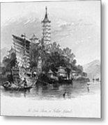 China: Golden Island, 1843 Metal Print