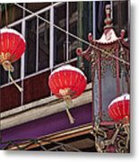 China Town San Francisco Metal Print by Kelley King
