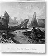 China: Wuyi Shan, 1843 Metal Print
