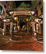 Chinatown Entrance Metal Print
