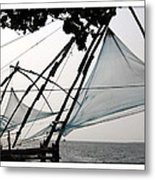 Chinese Fishing Net Metal Print