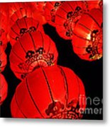 Chinese Lanterns 3 Metal Print