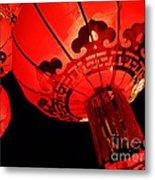 Chinese Lanterns 4 Metal Print