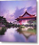 Chinese Palace Metal Print