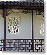 Chinese Walkway Vancouver Chinatown Metal Print