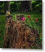 Chip Monk The Chipmunk Metal Print