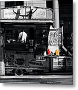 Chip Wagon Metal Print