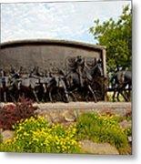 Chisholm Trail Monument Metal Print