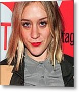 Chloe Sevigny In Attendance For Second Metal Print by Everett