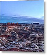 Chocolate Drops In The Maze Metal Print