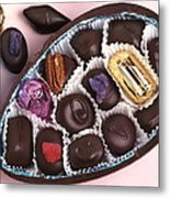 Chocolates Metal Print