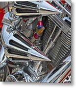 Chopper Engine-2 Metal Print