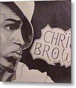 Chris Brown Metal Print