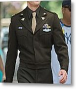 Chris Evans On Location For The Metal Print