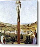 Christ Crucified Metal Print