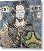 Christ In Majesty Metal Print