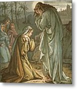 Christ In The Garden Of Gethsemane Metal Print