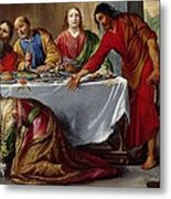 Christ In The House Of Simon The Pharisee Metal Print