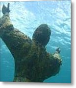 Christ Of The Abyss Metal Print