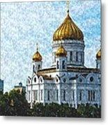 Christ The Savior Cathedral Metal Print