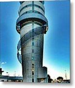 Christchurch Airport's Control Tower Metal Print