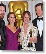Christian Bale, Natalie Portman Metal Print