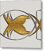 Christian Fish Metal Print