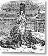 Christian Martyr Metal Print
