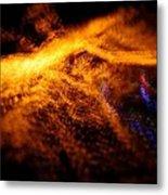 Christmas Abstract Lights Metal Print