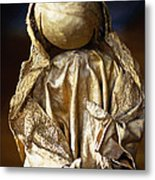 Christmas Angel Metal Print by Vicki Jauron