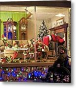 Christmas In Rochester Metal Print