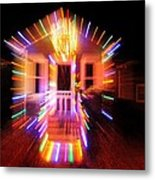 Christmas Lights Metal Print
