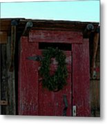 Christmas Out House The Perfect Gift For Those On The Go Metal Print