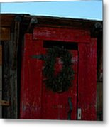 Christmas Out Houses For Sale Metal Print