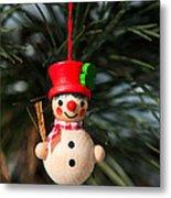 Christmas Tree Decoration Metal Print