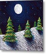 Christmas Trees II Metal Print