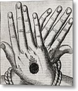 Christ's Stigmata, 17th Century Metal Print