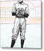 Christy Mathewson Metal Print