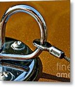 Chrome Lock Metal Print