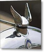 Chrysler Hood Ornament 2 Metal Print