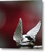 Chrysler Hood Ornament Metal Print