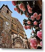 Church And Roses Metal Print