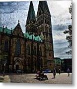 Church in Bremen Germany 2 Metal Print