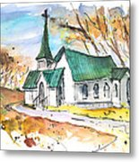 Church In Friars Point Mississippi Metal Print