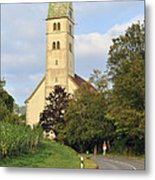 Church In Meersburg Germany Metal Print